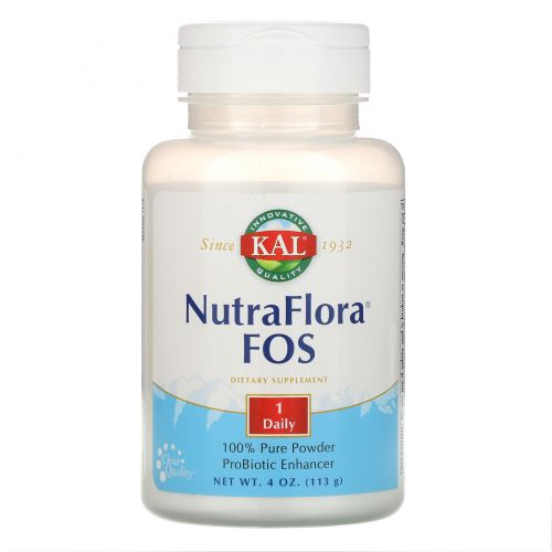KAL, NutraFlora FOS, 4 унц. (113 г)