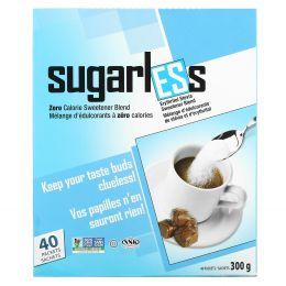 Health Garden, Sugarless, Erythritol Stevia, 40 Packets, 8.5 oz. (240 g)