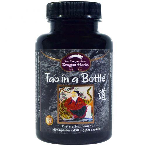 Dragon Herbs, Дао в бутылке, 450 мг, 60 капсул