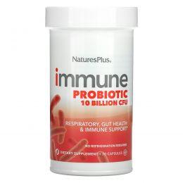 Nature's Plus, Immune Probiotic, 10 Billion CFU, 30 Capsules