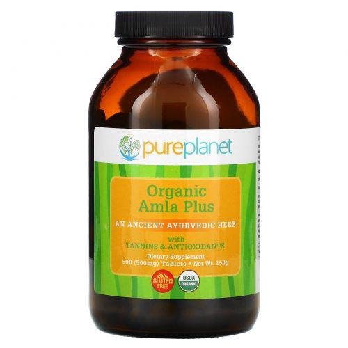 Pure Planet, Амла плюс, 500 мг, 500 таблеток (500 мг)