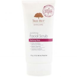Tree Hut, Skincare, Polishing Facial Scrub, Refining Rose, 6 oz (170 g)