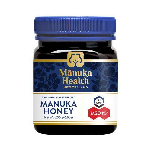 Manuka Health, Мед Манука, MGO 100+, 8.8 унций (250 г)