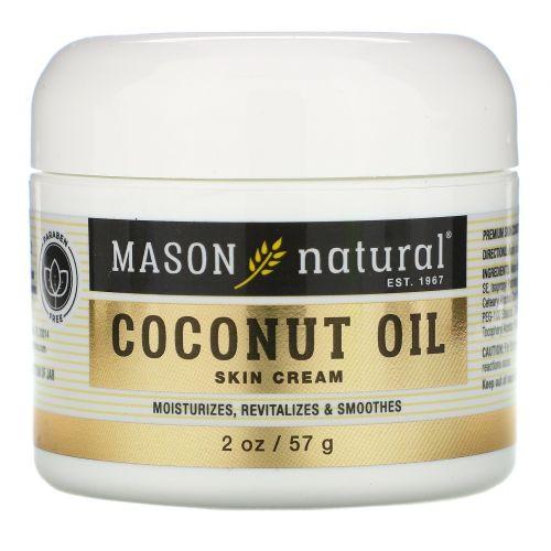Mason Natural, Кокосовое масло крем для красоты 2 унции (57 г)