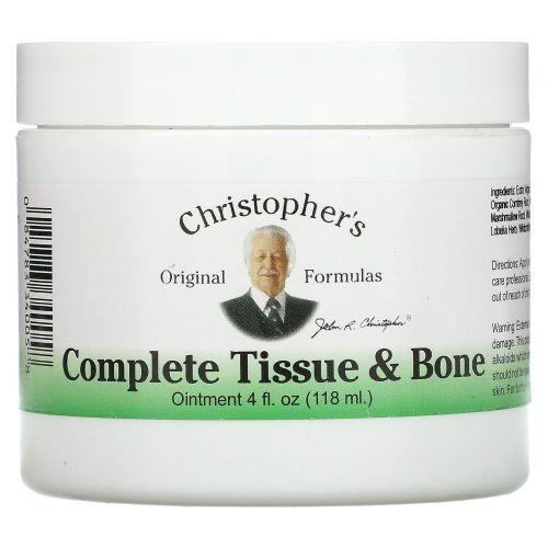 Christopher's Original Formulas, Совершенная мазь для тканей и костей, 4 жидких унции (118 мл)