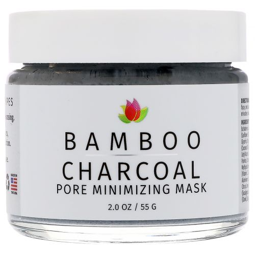 Reviva Labs, Bamboo Charcoal, Pore Minimizing Mask, 2 oz (55 g)