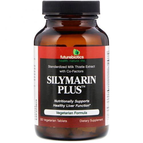 FutureBiotics, Силимарин плюс, 120 растительных таблеток