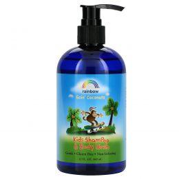 Rainbow Research, Детский шампунь и гель для душа, Goin' Coconuts, 12 жидких унций (360 мл)