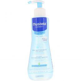 Mustela, Baby, очищающая жидкость, не требующая смывания, для нормальной кожи, 300 мл