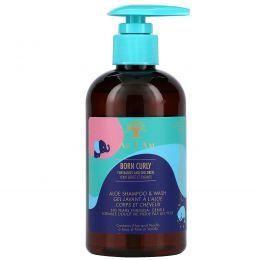 As I Am, Born Curly For Babies and Children, Aloe Shampoo & Wash, 8 fl oz (240 ml)