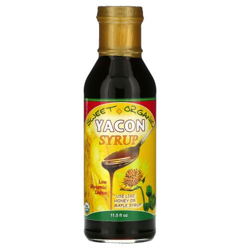 Amazon Therapeutics, Органический сироп Yacon, 11.5 жидких унций
