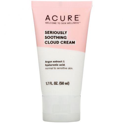 Acure Organics, Сильно успокаивающий облакообразный крем, 50 мл