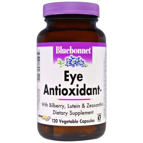 Bluebonnet Nutrition, Антиоксидант для глаз, 120 капсул в растительной оболочке