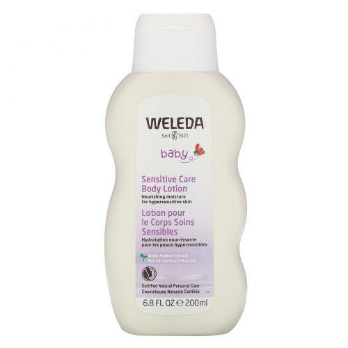 Weleda, Детский лосьон для чувствительной кожи тела, 200мл (6,8жидк.унции)