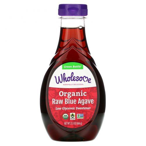 Wholesome Sweeteners, Inc., Organic Raw Blue Agave, 23,5 унций (666 г)
