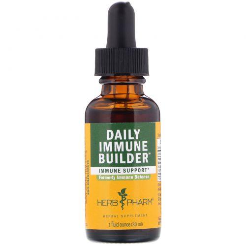 Herb Pharm, Immune Defense (защита иммунитета), 1 жидкая унция (30 мл)
