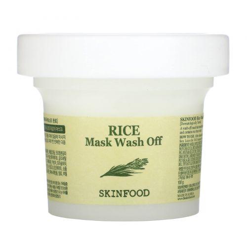 Skin Food, Смываемая рисовая маска, 3,5 унции (100 г)