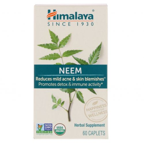 Himalaya Herbal Healthcare, Ним, 60 таблеток
