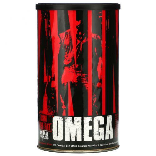 Universal Nutrition, Animal Омега, НЖК (Незаменимые Жирные Кислоты) 30 пакетиков