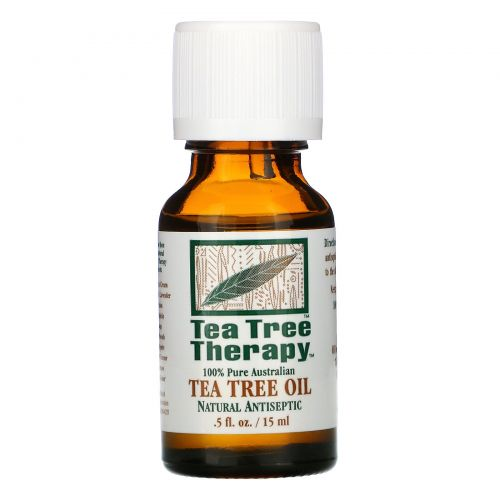 Tea Tree Therapy, Масло чайного дерева, 0,5 жидкой унции (15 мл)