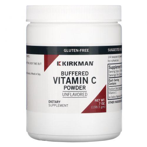Kirkman Labs, Буферизированный витамин С в порошке, 7 унций (198,5 г)
