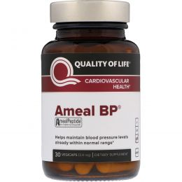 Quality of Life Labs, Амеал BP, при сердечно-сосудистых заболеваний, 30 капсул