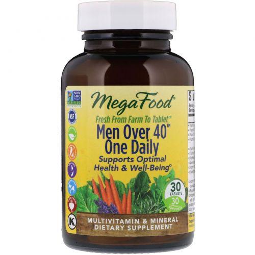 MegaFood, Для мужчины старше 40 лет,