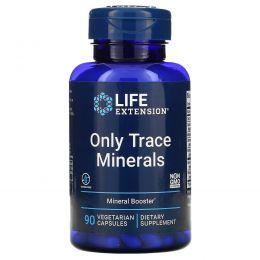 Life Extension, Только микроэлементы, 90 капсул на растительной основе