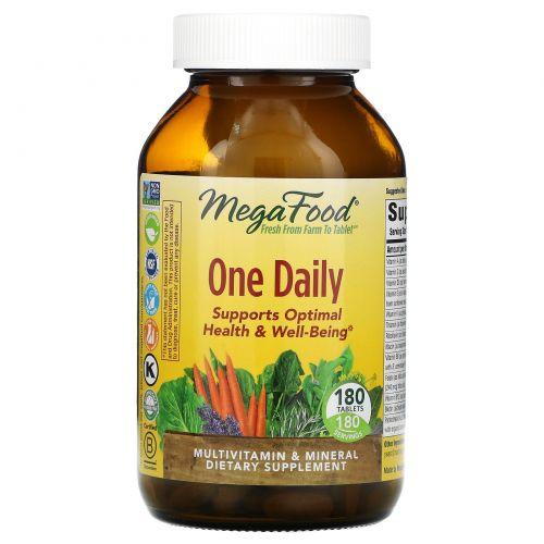 MegaFood, One Daily, 180 таблеток