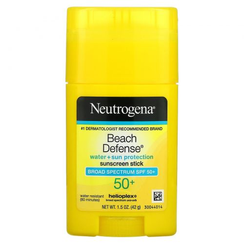 Neutrogena, Beach Defense, Sunscreen Stick, SPF 50+, 1.5 oz (42 g)