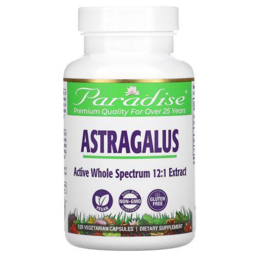 Paradise Herbs, Astragalus, 120 Vegetarian Capsules