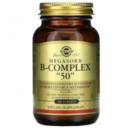 Solgar, Комплекс витамина B  Megasorb