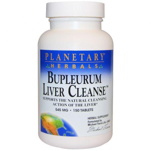Planetary Herbals, Володушка для очищения печени, 545 мг, 150 таблеток