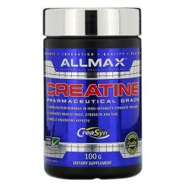 ALLMAX Nutrition, 100% натуральный, микроизмельченный немецкий креатин, 3,5 унции (100 г)