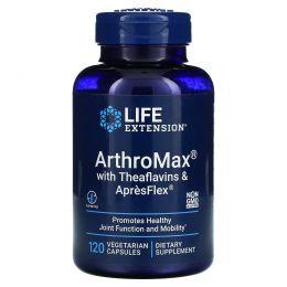 Life Extension, Arthromax с теафлавинами и Apresflex, 120 растительных капсул