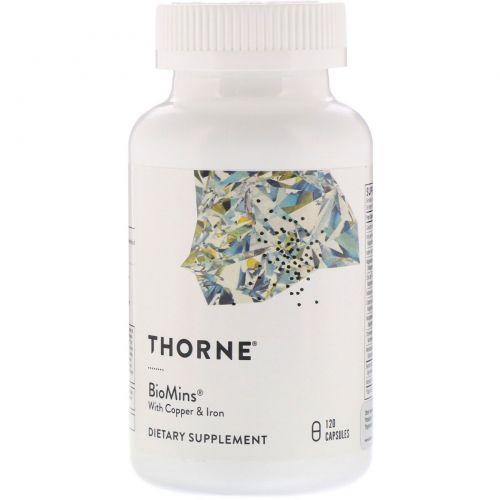 Thorne Research, Biomins, 120 растительных капсул