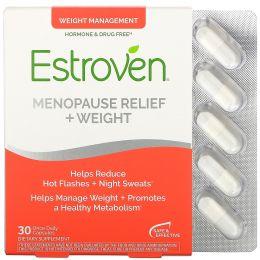 Estroven, Средство при менопаузе, контроль веса, 30 капсул