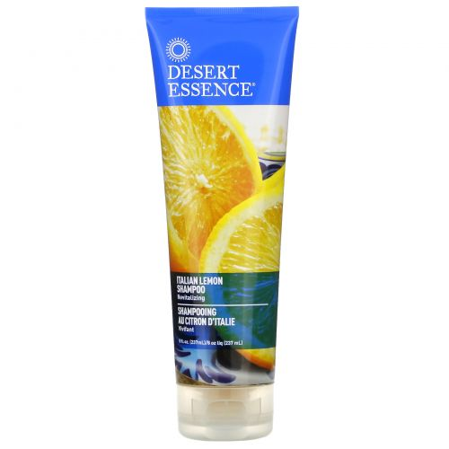Desert Essence, Italian Lemon Shampoo, 8 fl oz (237 ml)