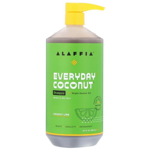Everyday Coconut, Shampoo, Ultra Hydrating, Dry/Extra Dry Skin, Coconut Lime, 32 fl oz (950 ml)