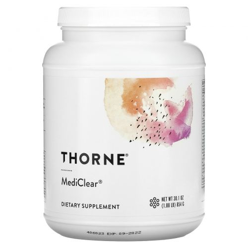 Thorne Research, MediClear, 34,6 унций (980 г)