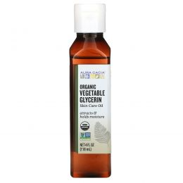 Aura Cacia, Vegetable Glycerin, Organic, Skin Care, 4 fl oz (118 ml)