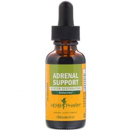Herb Pharm, Adrenal Support (поддержка надпочечников), 1 жидкая унция (30 мл)