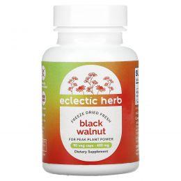 Eclectic Institute, Черный орех, 400 мг, 90 вегетарианских капсул