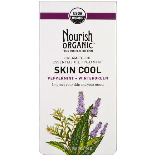 Nourish Organic, Охладитель для кожи, мята перечная+зима, 56 г (2 унции) (Discontinued Item)