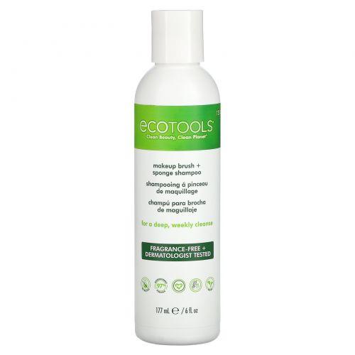EcoTools, Шампунь для удаления загрязнений с кистей для макияжа, 6 жидк. унц. (177 мл)