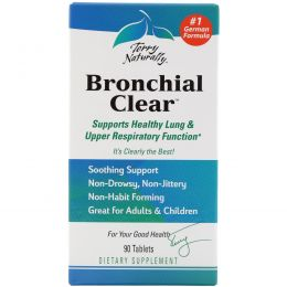 EuroPharma, Terry Naturally, Terry Naturally, Bronchial Clear, 90 таблеток