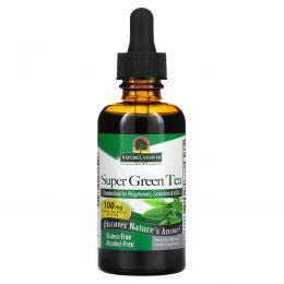 Nature's Answer, Супер зеленый чай, без спирта, 2 жидких унции (60 мл)