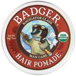 Badger Company, Органическая помада для волос, категория - мореплаватель, для мужчин, 2 унции (56 гр)