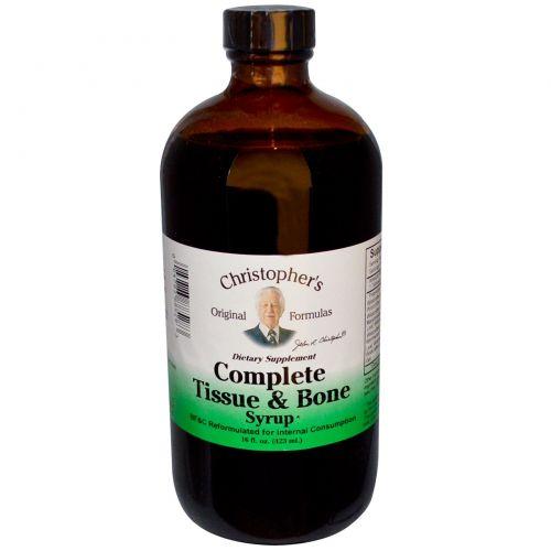 Christopher's Original Formulas, Complete, сироп для тканей и костей, 16 жидких унций (423 мл)