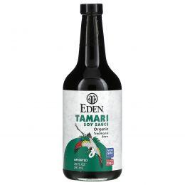 Eden Foods, Органический соевый соус Тамари, 20 жидких унций (592 мл)
